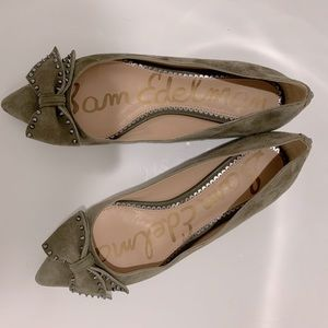 Sam Edelman Raisa bow flats 8.5